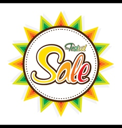 Happy festival sale banner design design vector