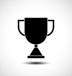 Trophy icon vector