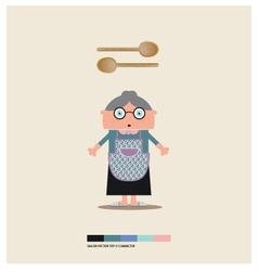 Granny toy vector