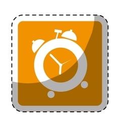 alarms clock icon image vector image