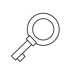 Key icon image vector