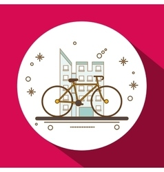 Graphic design of bike lifestyle  editable vector