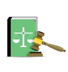 court and law vector image