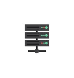Flat server element of flat vector