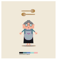 Granny toy vector