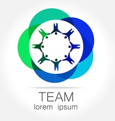 Team unity logo vector