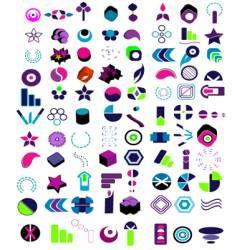 tribal logos vector image vector image