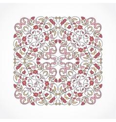vintage pattern in Eastern style vector image