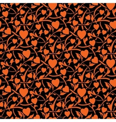 valentine day seamless texture vector image