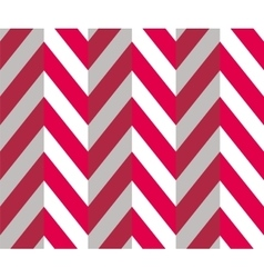 Chevron Zigzag Seamless Pattern vector image