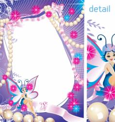 Fairy-tale frame graphic vector