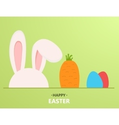 modern happy easter background vector image