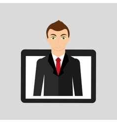 Office people design vector