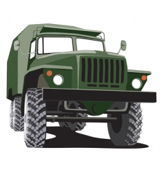 army track vector image vector image