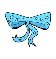 comic cartoon bow tie vector image vector image