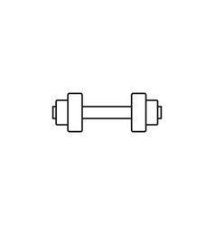 dumbell icon vector image