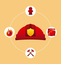 Fire concept vector