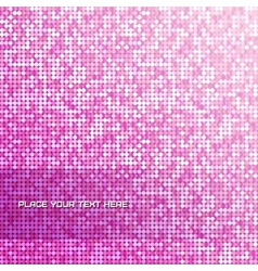 Seamless background with shiny pink paillettes vector image vector image