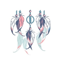 Dreamcatcher rope vector