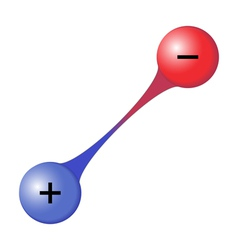 Interaction between two oppositely charged ions vector