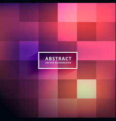 Abstract shiny colorful tiles background vector