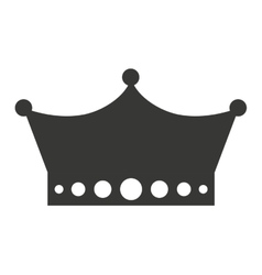 Crown king isolated icon design vector