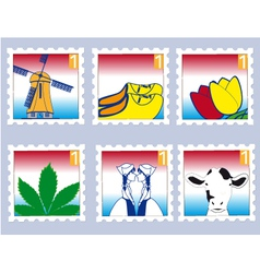Dutchstamps vector