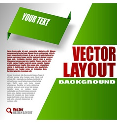 Green Design vector image