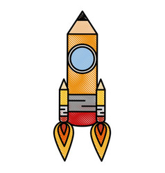 Pencil drawing object vector