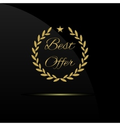 Best offer label vector