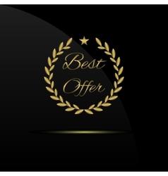 Best offer label vector