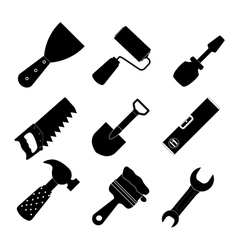 Different tools icon set1 vector