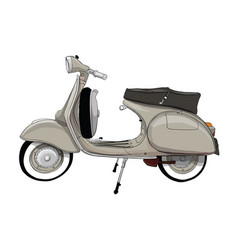 Italy scooter vector