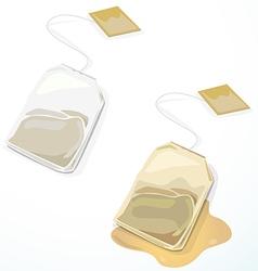 Tea bag vector