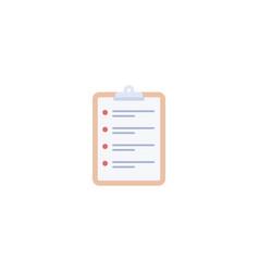 Flat schedule element of flat vector