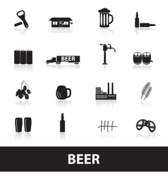 Beer icons eps10 vector
