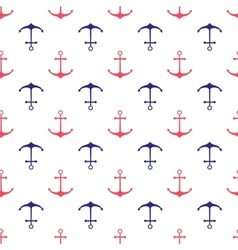 Seamless nautical pattern vector