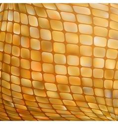 Golden business mosaic EPS 8 vector image