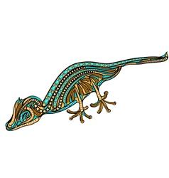 Leaf tailed gecko vector