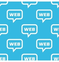 Web message pattern vector