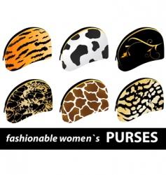 women's purses vector image vector image