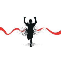 Runner backgrounds vector