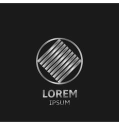 Silver Logo vector image