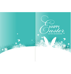 background for easter vector image vector image
