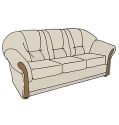 Light sofa vector