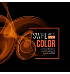 Afere light swirl background vector