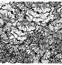 Coloring book page design with pattern vector