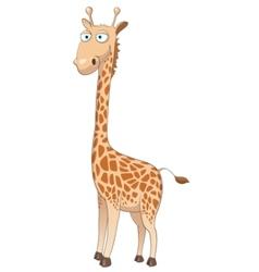 Cartoon character giraffe vector