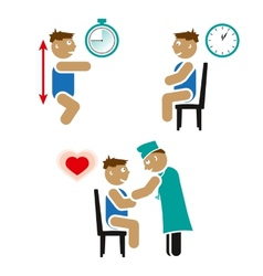Children cardiovascular test vector