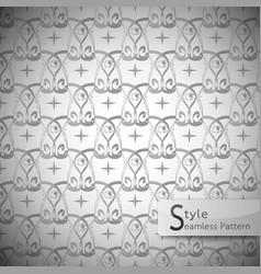 Eyes mesh monochrome seamless pattern vector